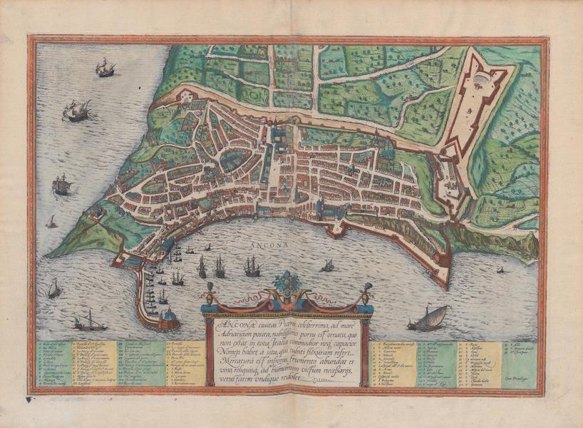Civitates Orbis Terrarum Vol. 1 - Ancona (1572)