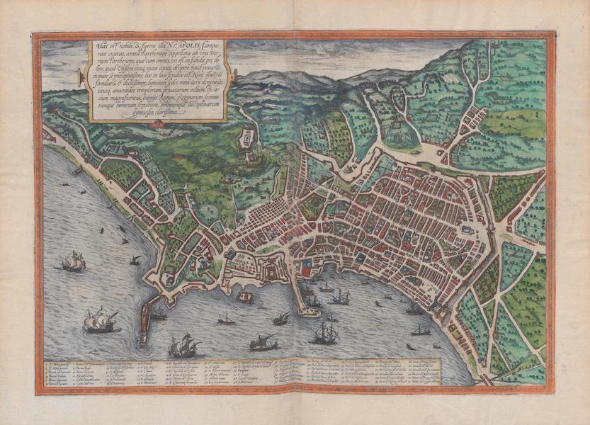 Civitates Orbis Terrarum Vol. 1 - Neapolis (1572)