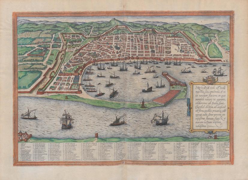 Civitates Orbis Terrarum Vol. 1 - Messana (1572)