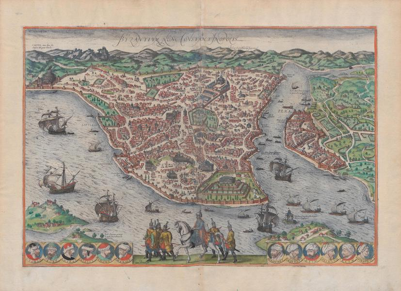 Civitates Orbis Terrarum Vol. 1 - Byzantivm Nunc Constantinoplis (1572)