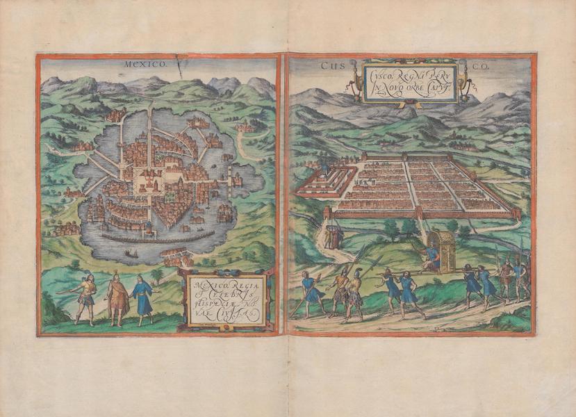 Civitates Orbis Terrarum Vol. 1 - Mexico et Cvsco (1572)