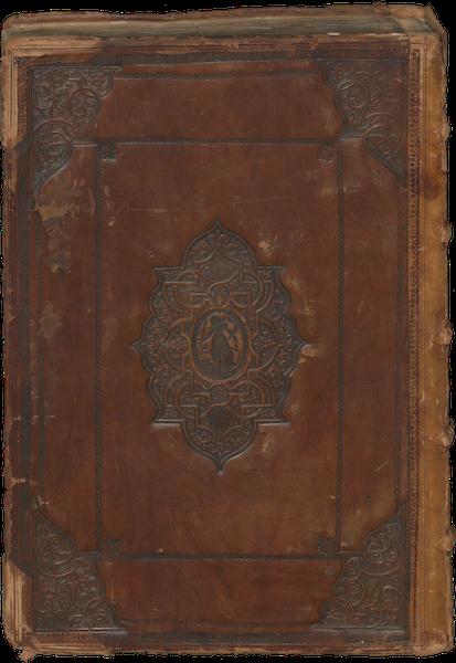 Civitates Orbis Terrarum Vol. 1 - Back Cover (1572)