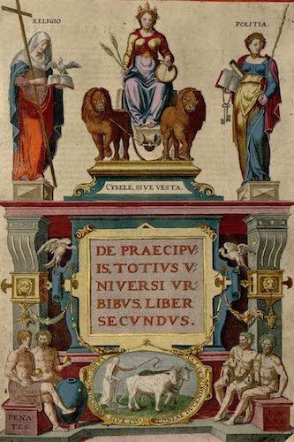 Aquatint & Lithography - Civitates Orbis Terrarum Vol. 2