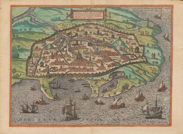 Civitates Orbis Terrarum Vol. 2 - Alexandria (1575)