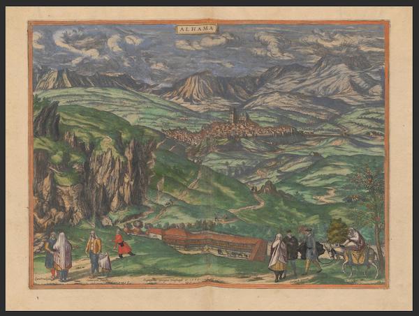 Civitates Orbis Terrarum Vol. 2 - Alhama 1564 (1575)