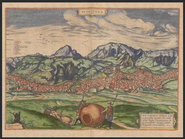 Civitates Orbis Terrarum Vol. 2 - Ante Qvera (1575)