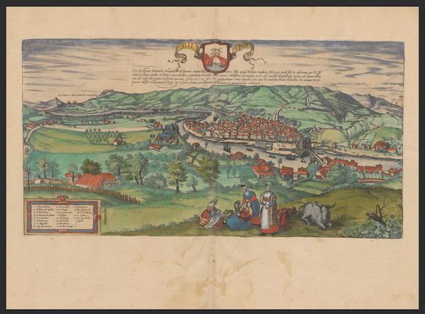 Civitates Orbis Terrarum Vol. 2 - Bilvao (1575)