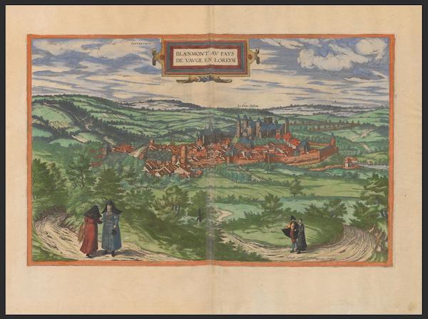 Civitates Orbis Terrarum Vol. 2 - Blanmont (1575)