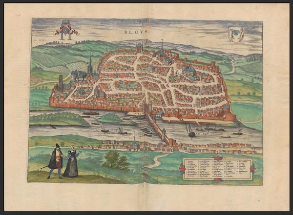 Civitates Orbis Terrarum Vol. 2 - Bloys (1575)