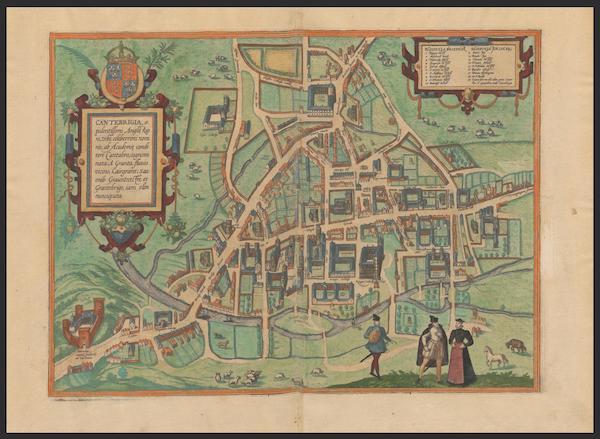 Civitates Orbis Terrarum Vol. 2 - Cantebrigia (1575)