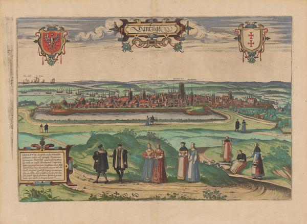 Civitates Orbis Terrarum Vol. 2 - Dantzigt (1575)