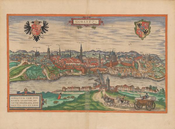 Civitates Orbis Terrarum Vol. 2 - Gorlitz (1575)