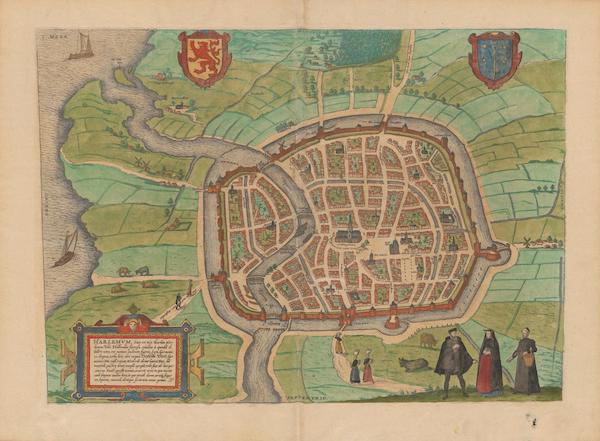 Civitates Orbis Terrarum Vol. 2 - Harlemvm (1575)