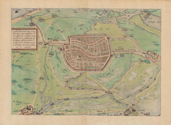 Civitates Orbis Terrarum Vol. 2 - Leyden 1574 (1575)