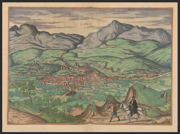 Civitates Orbis Terrarum Vol. 2 - Loxa (1575)