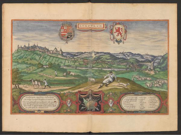 Civitates Orbis Terrarum Vol. 2 - Lympvrch (1575)