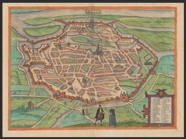 Civitates Orbis Terrarum Vol. 2 - Mets (1575)