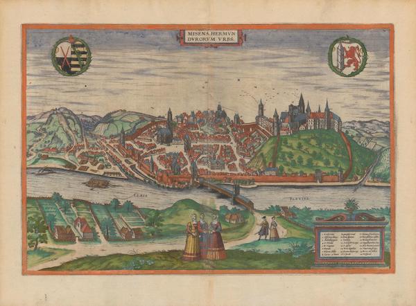 Civitates Orbis Terrarum Vol. 2 - Misena Hermvndvrorvm Vrbs (1575)