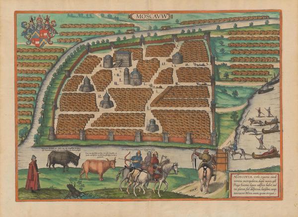 Civitates Orbis Terrarum Vol. 2 - Moscavw Moscovia (1575)