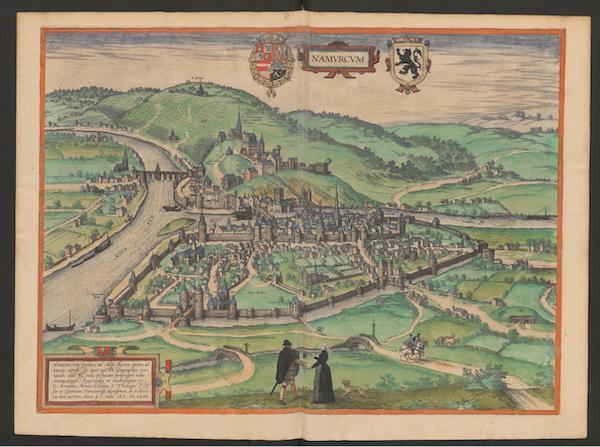 Civitates Orbis Terrarum Vol. 2 - Namvrcvm 1575 (1575)