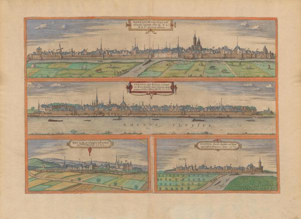 Novesivm Vulgo Heus Verona Brvia et Sontina 1575