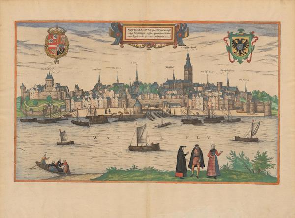 Civitates Orbis Terrarum Vol. 2 - Noviomagivm Vulgo Nymmegen (1575)