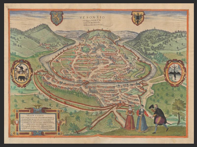 Vesontio Seqvanorvm 1575