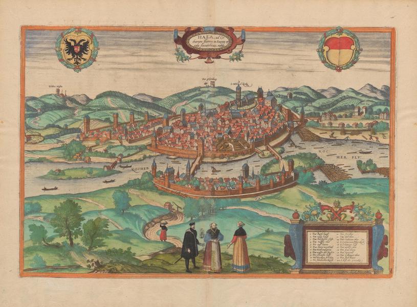 Civitates Orbis Terrarum Vol. 2 - Hala (1575)