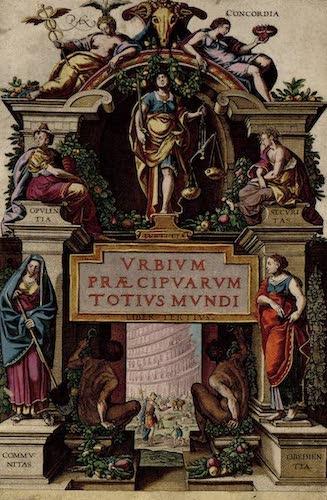 Aquatint & Lithography - Civitates Orbis Terrarum Vol. 3