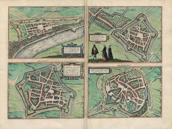 Charlemont Landrechies Avesnes et Beavmont