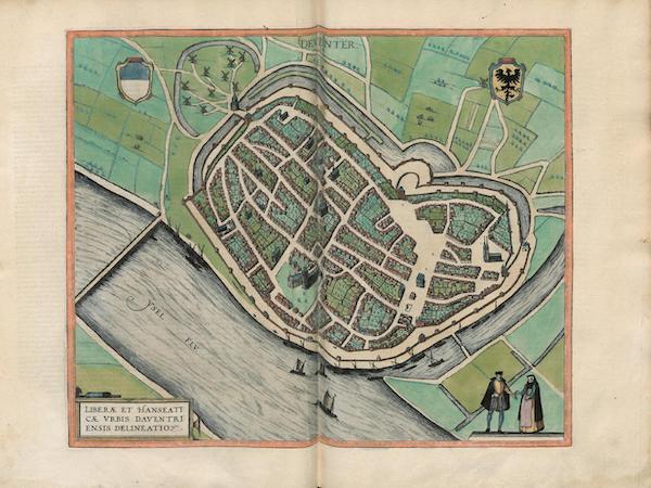 Civitates Orbis Terrarum Vol. 3 - Deventer (1581)
