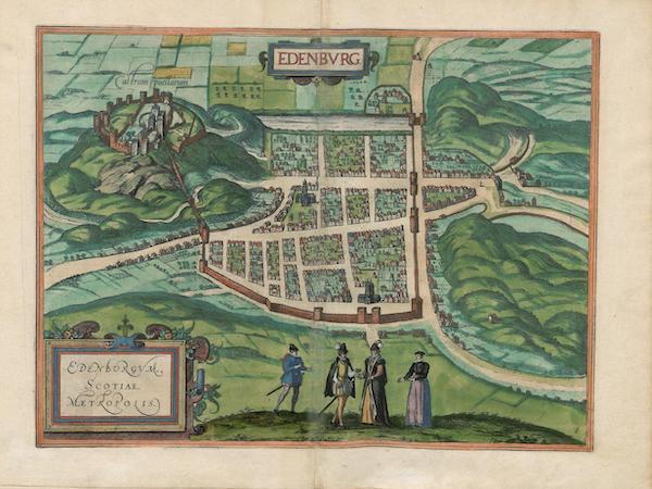Civitates Orbis Terrarum Vol. 3 - Edenbvrg (1581)