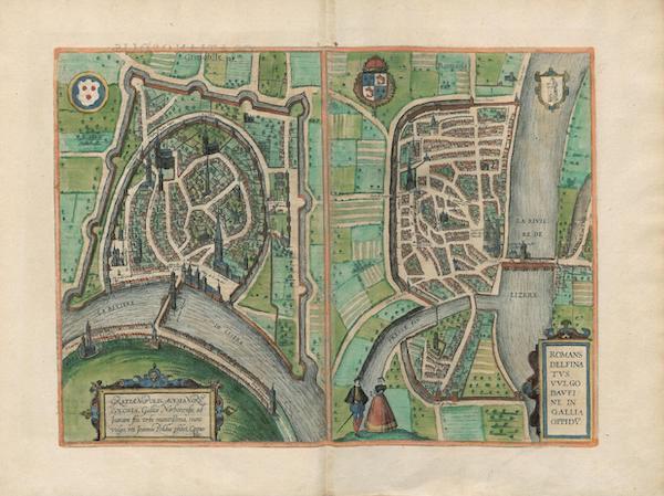 Gratianopolis Grenoble et Romans Delfinatus
