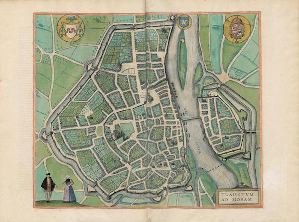 Civitates Orbis Terrarum Vol. 3 - Maestricht (1581)