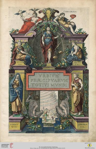 Liber Tertius Vrbivm Praecipvarvm Totivs Mundi