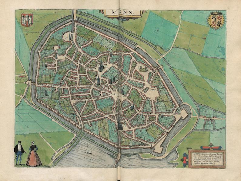 Civitates Orbis Terrarum Vol. 3 - Mons (1581)