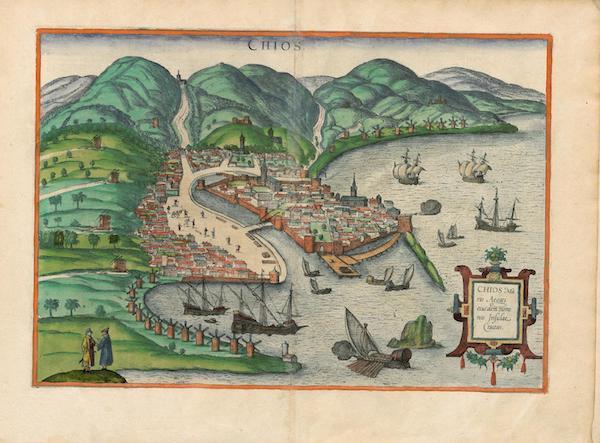 Civitates Orbis Terrarum Vol. 4 - Chios (1588)