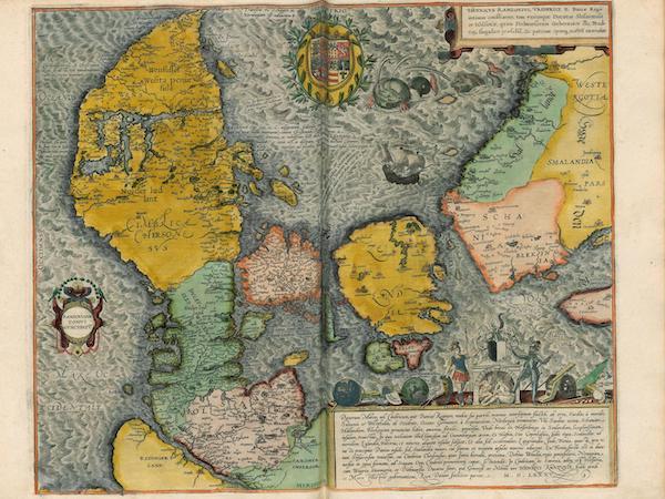 Danorum Marca Uel Cimbricum 1585