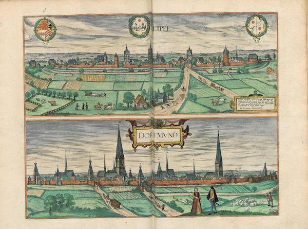 Civitates Orbis Terrarum Vol. 4 - Lippe et Dortmvnd (1588)