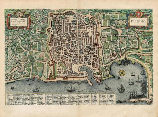 Civitates Orbis Terrarum Vol. 4 - Palermo (1588)