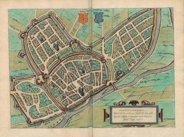 Civitates Orbis Terrarum Vol. 4 - Wesalia (1588)