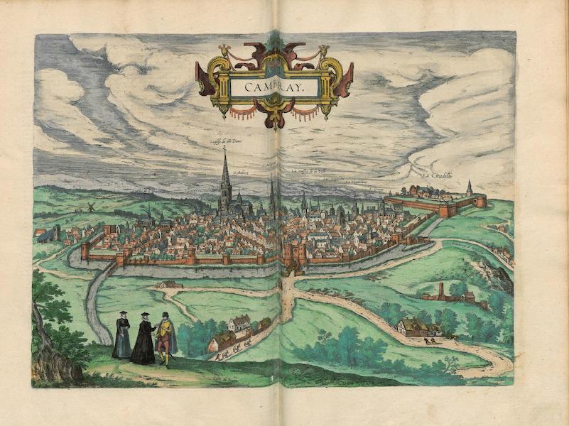 Civitates Orbis Terrarum Vol. 4 - Cambray (1588)