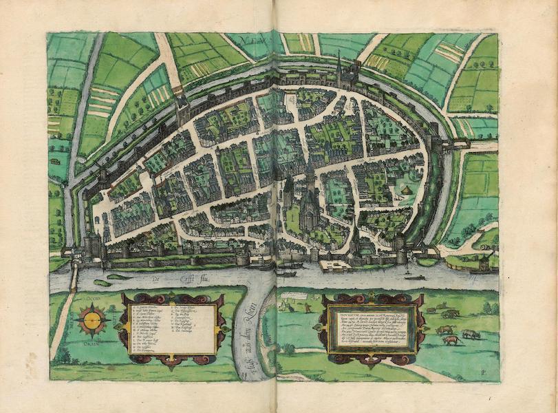 Civitates Orbis Terrarum Vol. 4 - Nevs (1588)