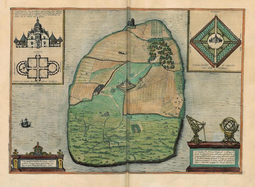 Topographia Insulae Huenae In Celebri Prothmo Regni Daniae 1586