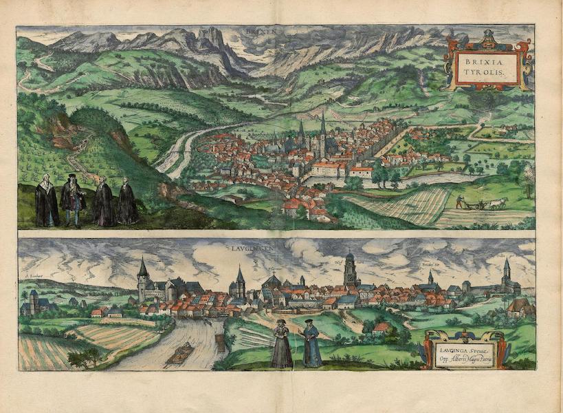 Civitates Orbis Terrarum Vol. 4 - Brixia Tyrolis et Lavingen (1588)