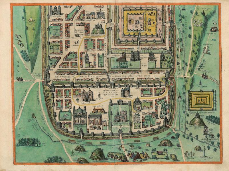 Civitates Orbis Terrarum Vol. 4 - Iervsalem Bottom (1588)