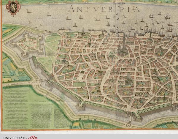 Civitates Orbis Terrarum Vol. 5 - Antverpia (1596)