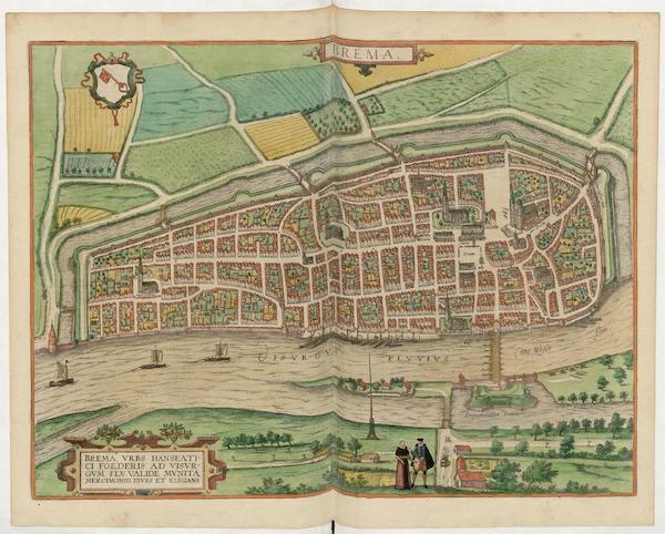 Civitates Orbis Terrarum Vol. 5 - Brema (1596)