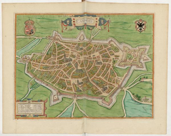 Civitates Orbis Terrarum Vol. 5 - Cambray 1596 (1596)