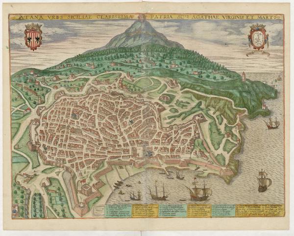 Civitates Orbis Terrarum Vol. 5 - Catana (1596)